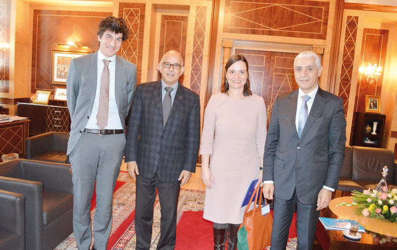 Parlement :  Talbi Alami et Biadillah en parfaite entente