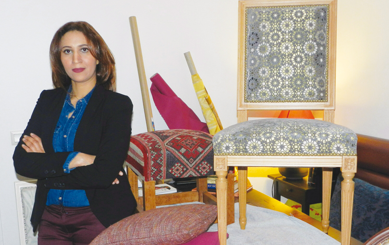 Sana Rouchdi: Une tapissière dans la cour des grands !