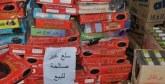 50 tonnes de produits  impropres à la consommation saisies en une semaine