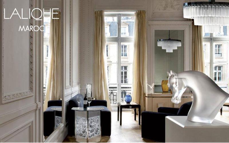 Bijouterie, Décoration d'intérieur : Lalique s'implante à Casablanca