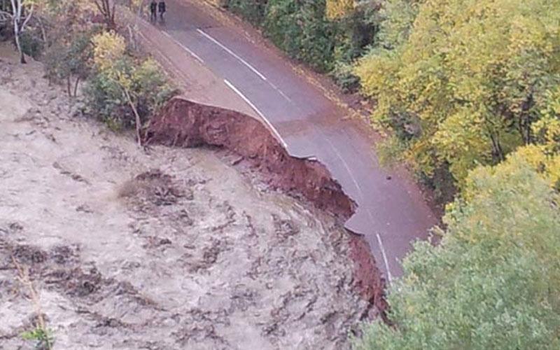 Guelmim: Quatre routes fermées à cause des intempéries