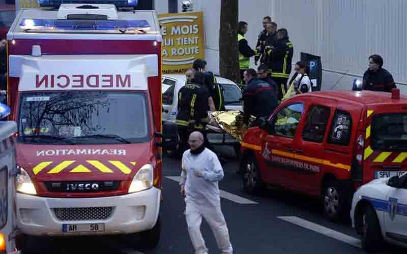 Nouvelle fusillade à Paris au lendemain de l'attentat contre «Charlie Hebdo»