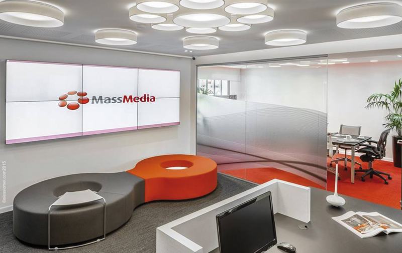 Refonte globale pour l'agence  Massmedia