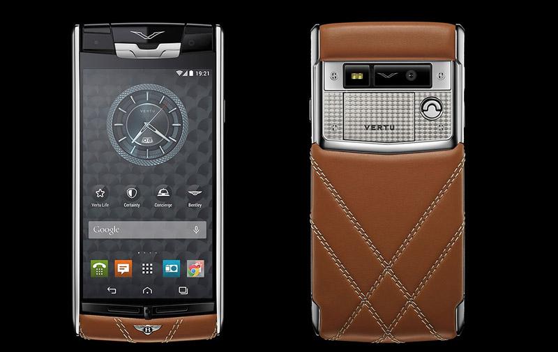 Smartphones de luxe: Vertu ose le smartphone  à 8.300 euros