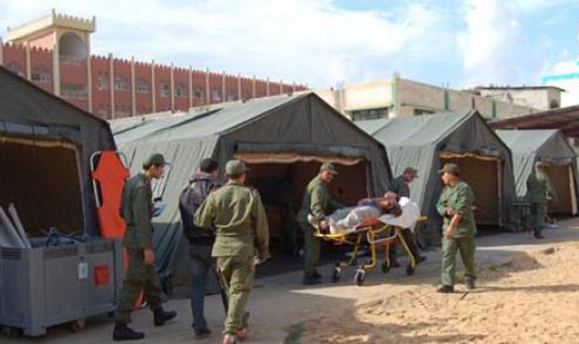 Jordanie : 15.279 syriens soignés à l'hôpital marocain de campagne en décembre