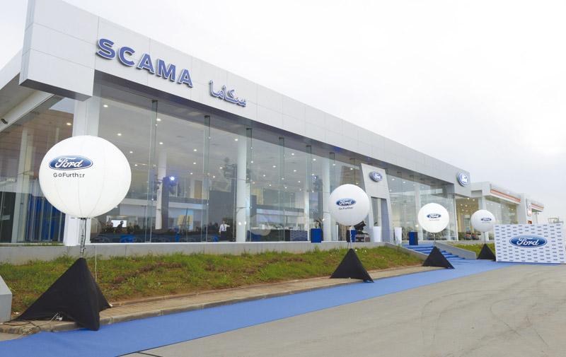 Inauguration: Un nouveau  showroom pour Ford  à Casablanca
