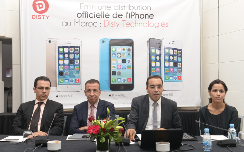 Distribution de l'iPhone au Maroc: Disty Technologies s'en charge