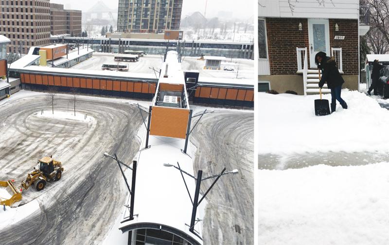 L'hiver au Canada: Des coûts et des retombées