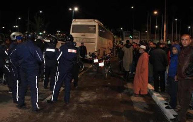 Casablanca: Un chauffard tue un policier et blesse un autre
