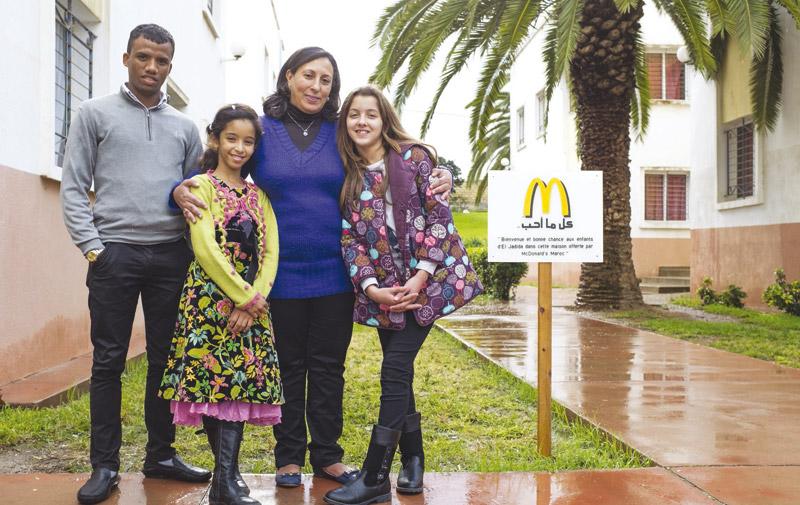 Philanthropie de McDonald's: Une pensée solidaire au profit des enfants de SOS Villages