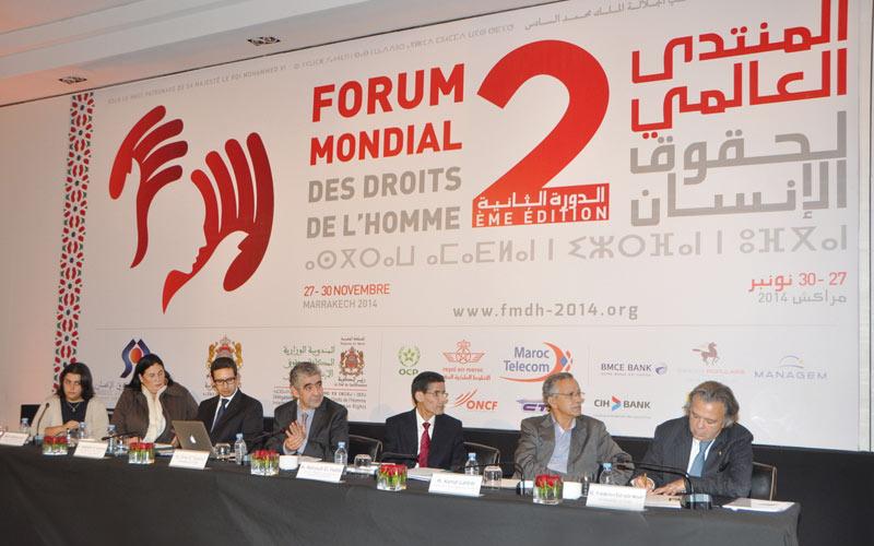 Forum mondial des droits de l'Homme: Le Maroc fin prêt pour son Mondial