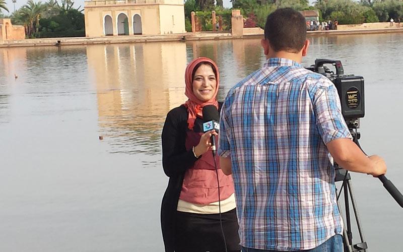 Nadia Layoubi: La face cachée d'une journaliste passionnée