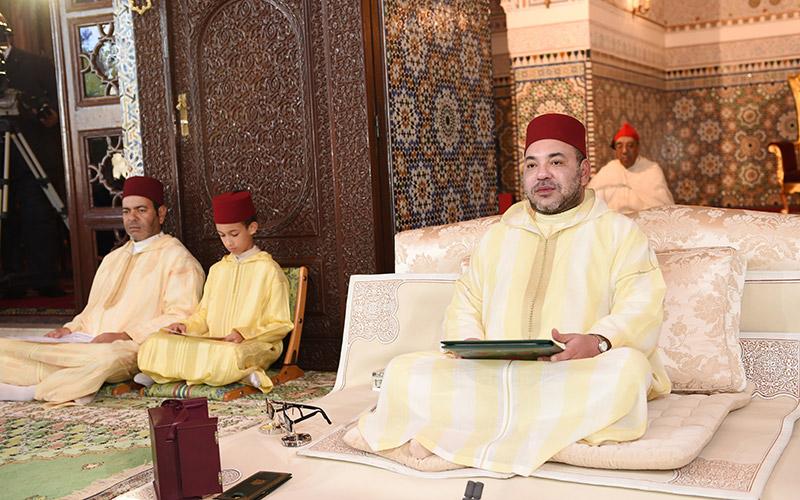 SM le Roi Mohammed VI préside la 2ème causerie religieuse de ramadan