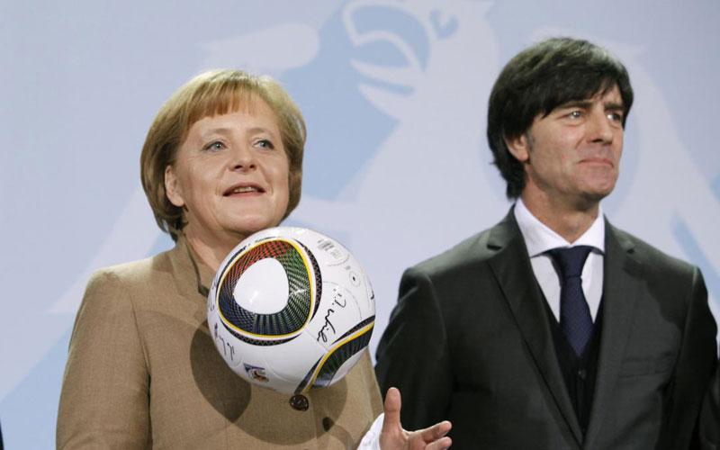 Coupe du monde 2014 : Merkel présente au Brésil pour le match Allemagne-Portugal
