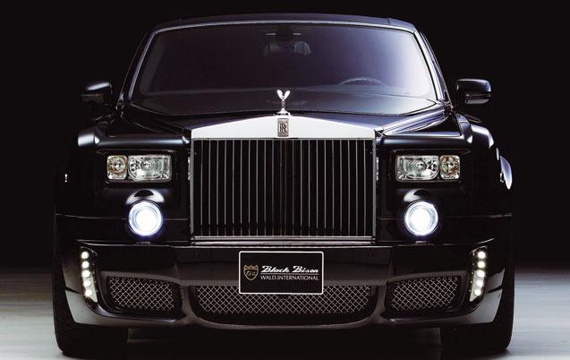 Rolls-Royce se met au tout- terrain !
