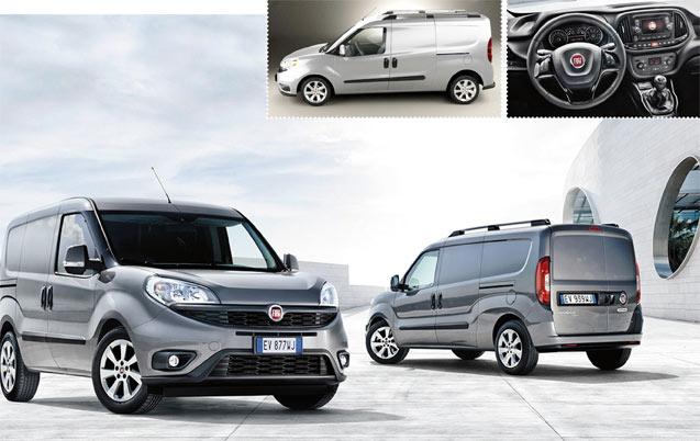 Nouveau Fiat Doblo 2015: Doublement  attendu !