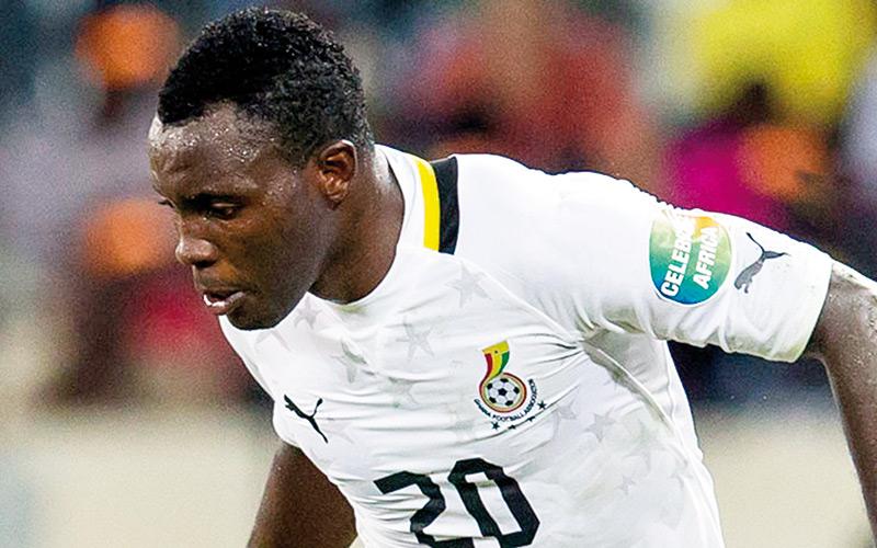 Asamoah grand absent  de la CAN 2015