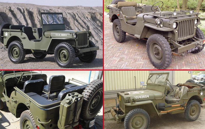 Il était une fois… Jeep Willys: Le kaki lui va bien!