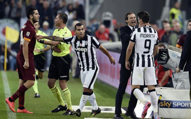 Italie : l'arbitre du match Juventus-Roma mis au repos