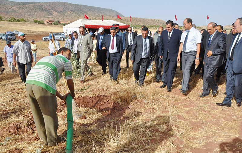Province d'Errachidia : M. Akhannouch visite deux projets agricoles d'un investissement de plus de 247 MDH