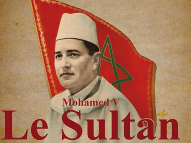 «Mohamed V, Le Sultan» nouveau  livre de Guillaume Jobin