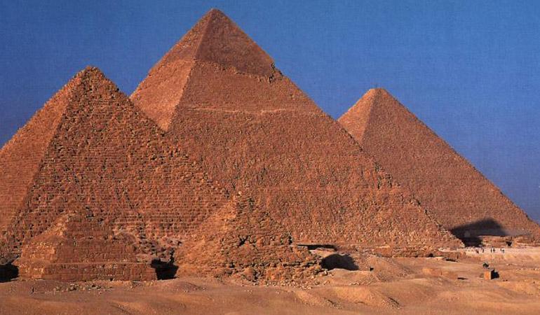 Egypte : 5 ans de prison pour avoir volé des fragments de pyramide