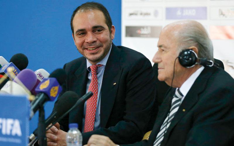 Le prince jordanien candidat à la présidence de la FIFA: Ali bin Al-Hussein joue les trouble-fêtes