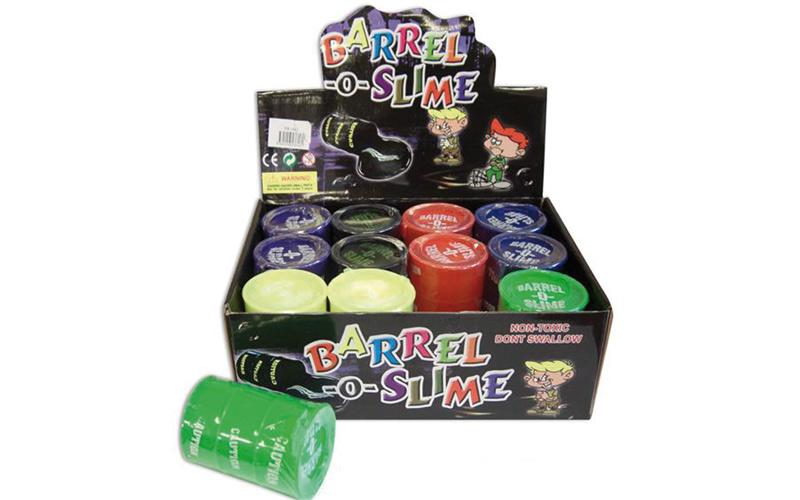 Alerte jouets / «Barrel O Slime» : Une glu toxique