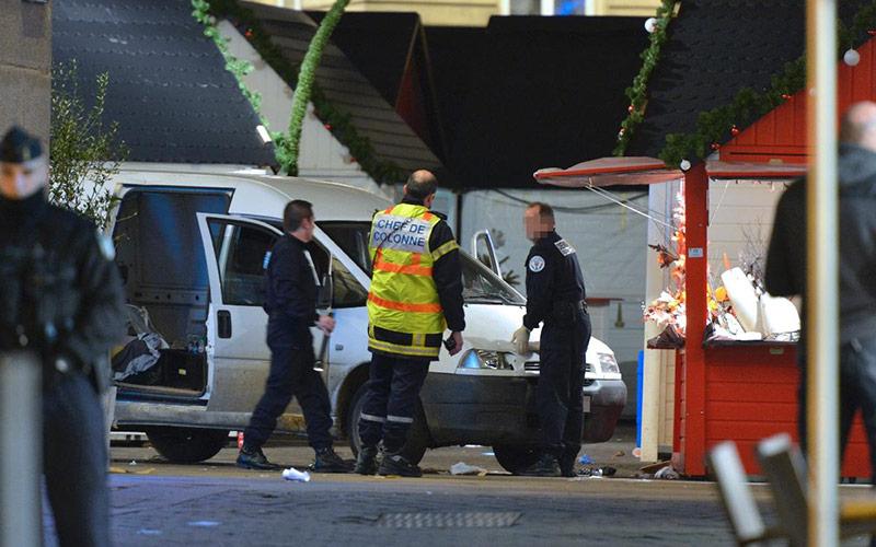 France: Un conducteur fauche des passants et fait 10 blessés