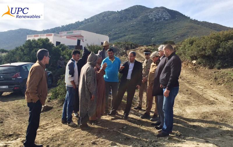 Le parc éolien Khalladi 120 MW atteint le closing financier