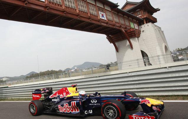 Auto/F1 : Le Grand Prix de Corée supprimé du calendrier 2015
