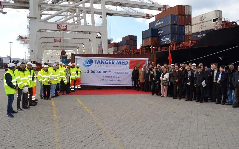 Tanger-Med : De record en record