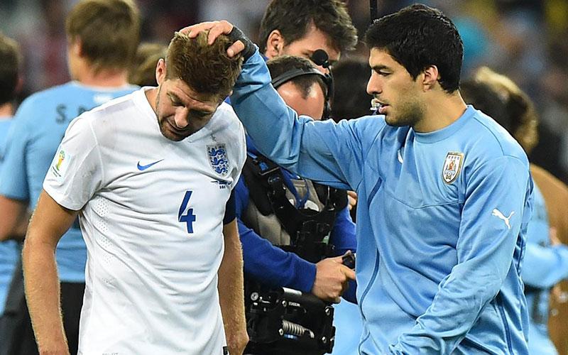 Coupe du Monde 2014 : Suarez met l'Angleterre KO et relance l'Uruguay
