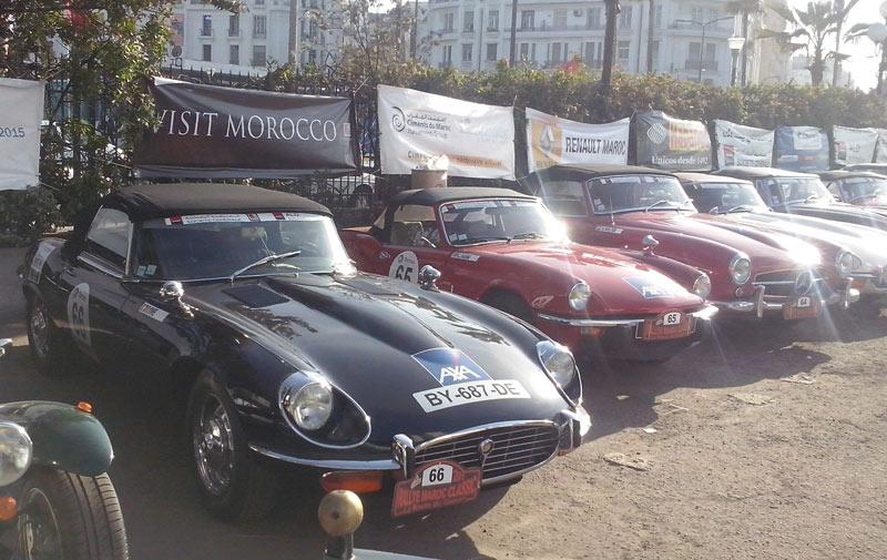 Rallye Maroc Classic: Les belles mécaniques entrent en lice