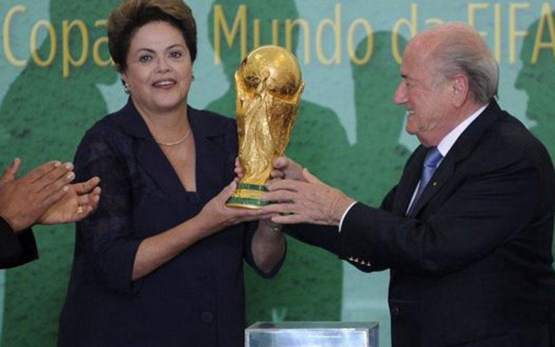 Coupe du monde 2014: Dilma Rousseff et 12 chefs d'Etat au match d'ouverture