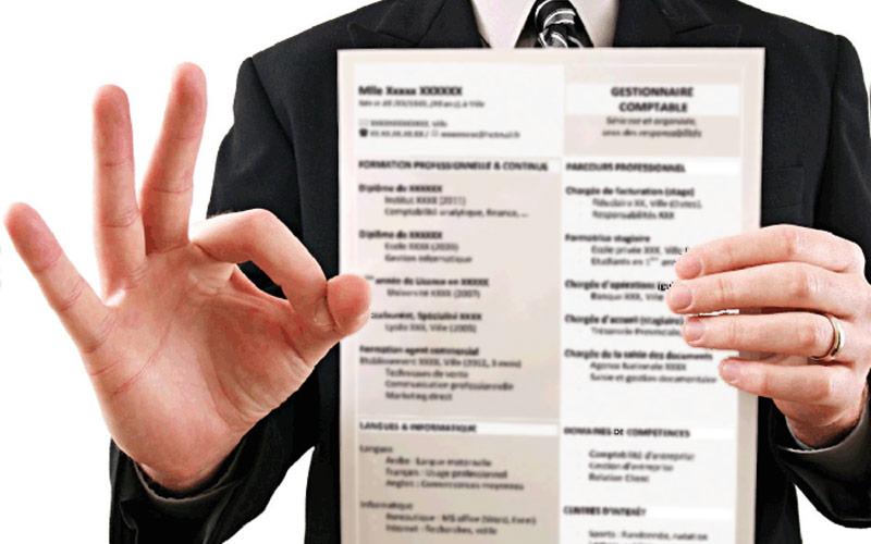 Avis Dexperte Votre CV Carte De Visite