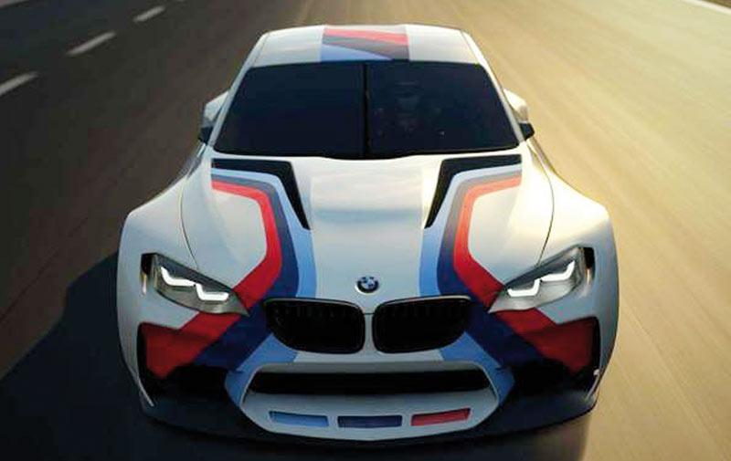 BMW M2 : Sosie du concept BMW Vision Gran Turismo ?