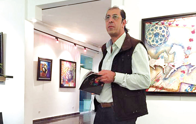 Exposition: Aziz Tounsi documente le plan en toiles