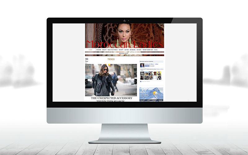 «Moroccan ladies», le nouveau site web de Femmes du Maroc!