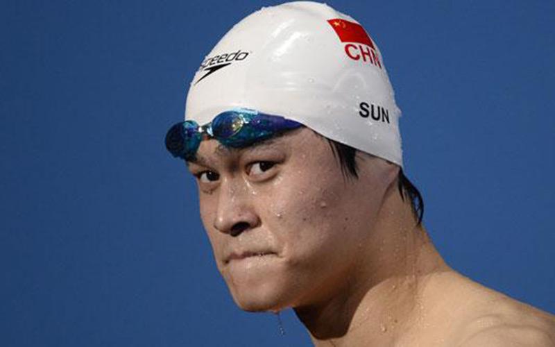 Natation : Le double champion olympique, Sun Yang, contrôlé positif