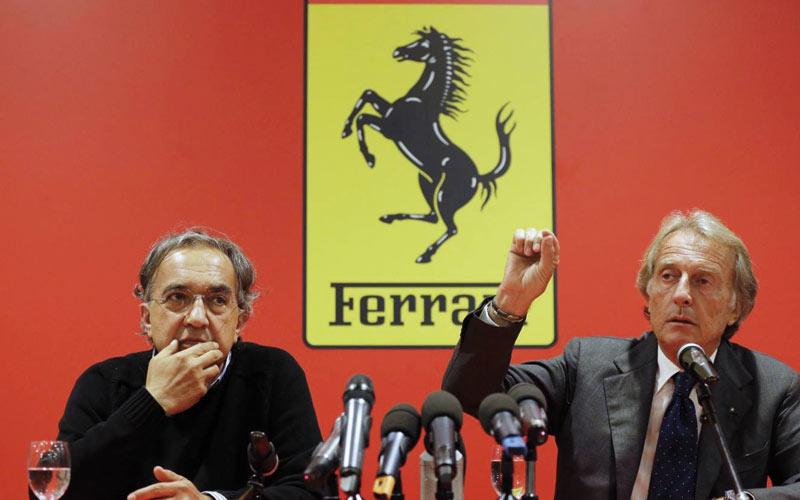 Ferrari: Montezemolo lâche les rênes, Marchionne  le remplace