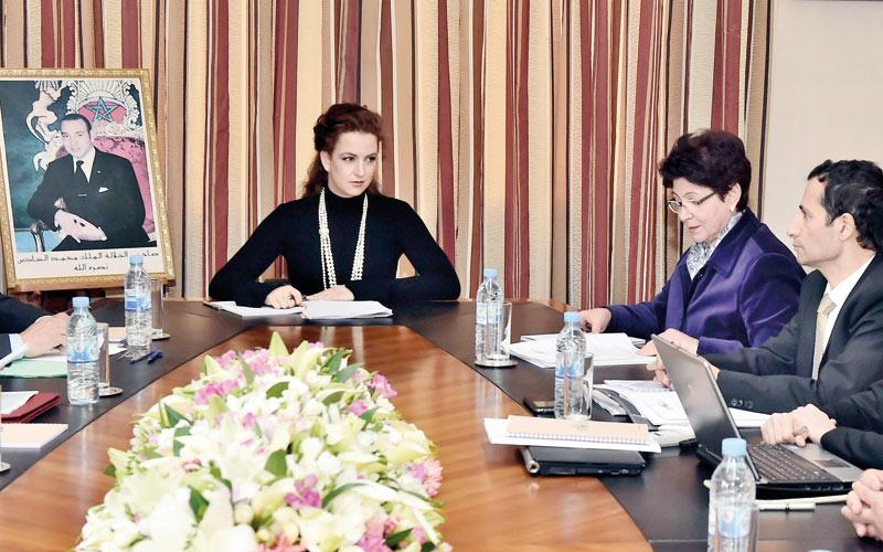La Fondation Lalla Salma tient son conseil d'administration