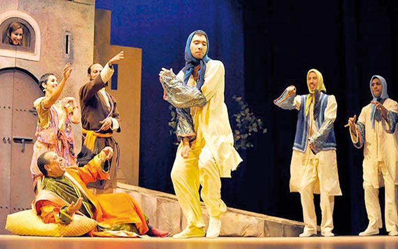 Une soixantaine de représentations théâtrales dans plusieurs villes