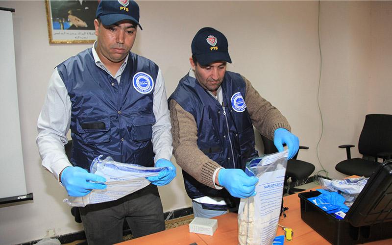 Saisie de 2,4 kg de cocaïne l'aéroport international Mohammed V