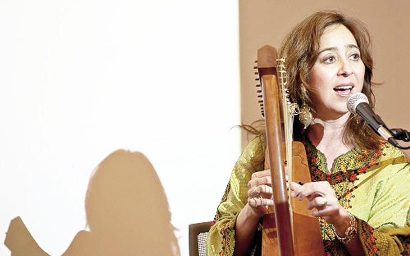 Vanessa Paloma à l'Institut français de Casablanca