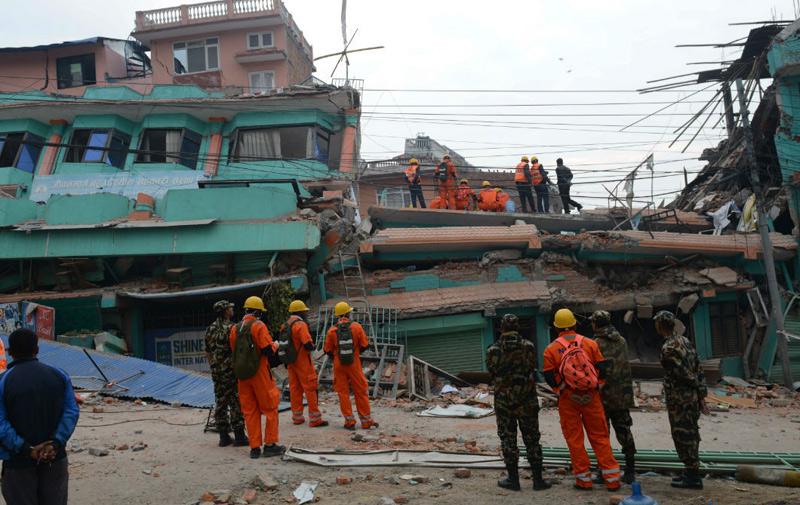 Le Népal frappé par un nouveau séisme de 7,4 degrés