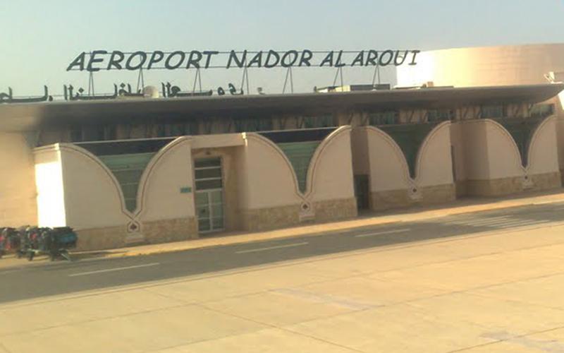 Aéroport Nador : baisse du trafic de 6,26 % en mai