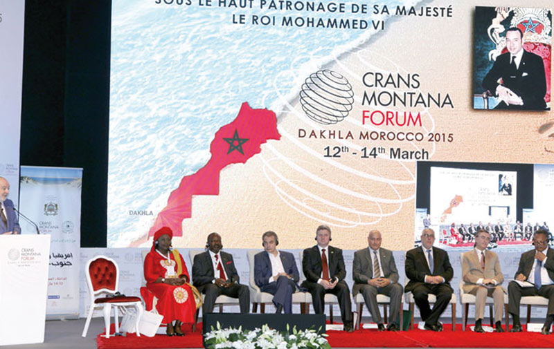 Forum de Crans Montana: Grande affluence à la session de Dakhla