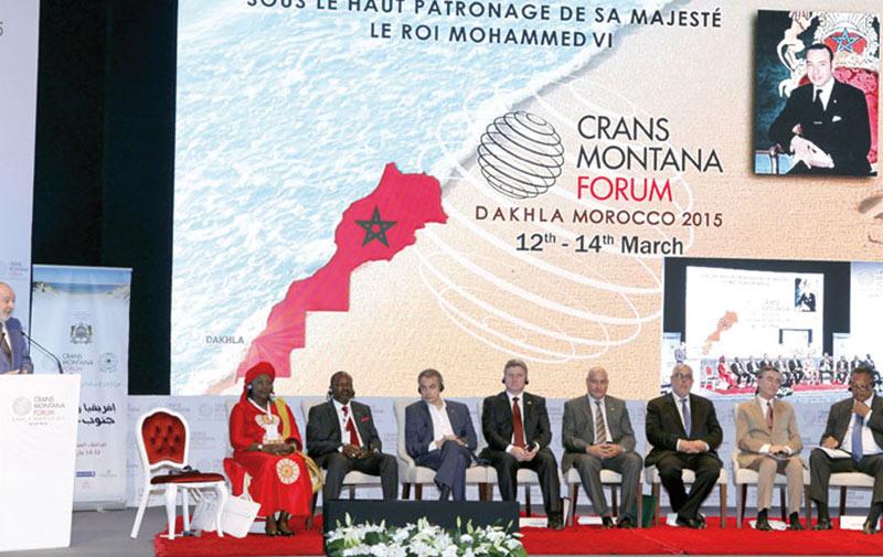 Forum de Crans Montana: Grande affluence à la session de Dakhla