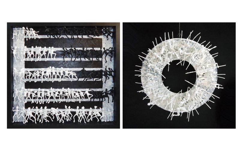 Exposition à Casablanca : L'univers d'Abdesslam Lahrach  à Amadeus Art Gallery
